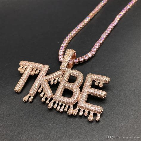 Wholesale Custom Jewelry Ice Out Name Chain Bling Bling