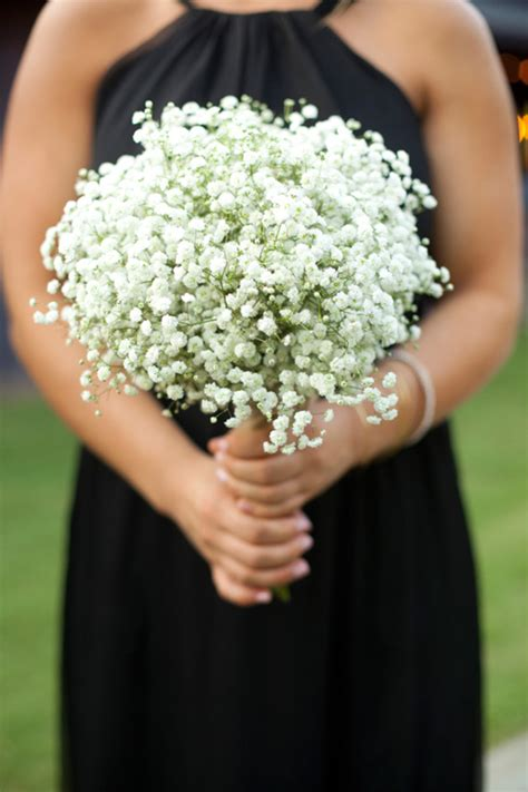 Baby's Breath Bouquet + How To Wrap Your Own Bouquet