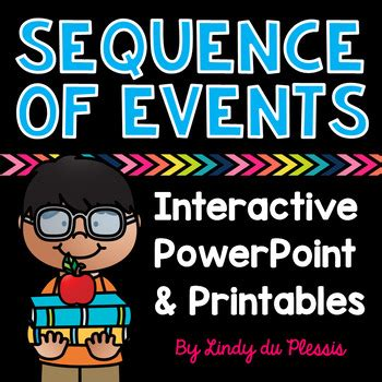 Sequence of Events PowerPoint and Worksheets for 1st, 2nd