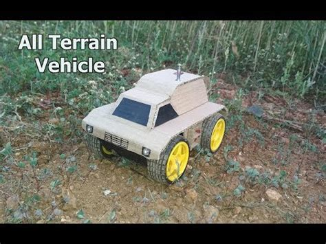 Download How to Make Remote Control ATV from Card Board
