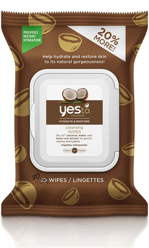 yes to coconut | Cleansing Wipes