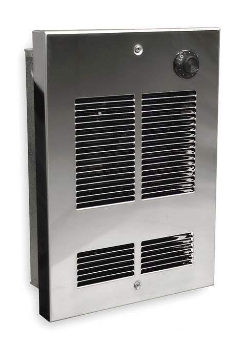 DAYTON Electric Wall Heater, Shallow Recessed or Surface