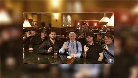Is This Roger Stone and Proud Boys Flashing a White Power