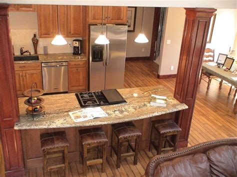 open kitchen add island with existing load bearing wall
