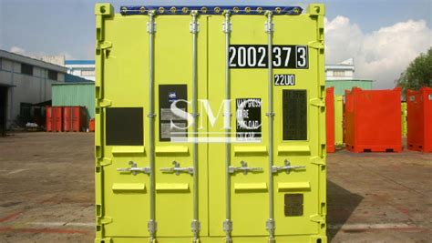 20ft Offshore Open Top Container