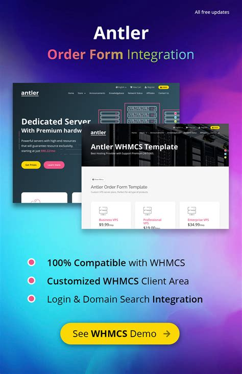 Antler - Hosting Provider & WHMCS Template - Cool Article