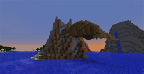 A shipwreck outside the water : Minecraft