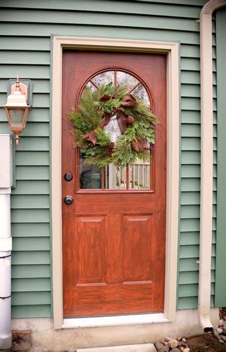 Thrifty transformation: How to paint a door to look like