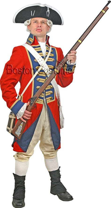 Colonial British soldier wore this, the suites that they