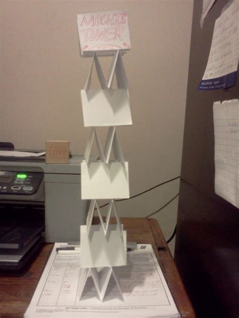 Paper Tower · A Papercraft · Paper Folding on Cut Out