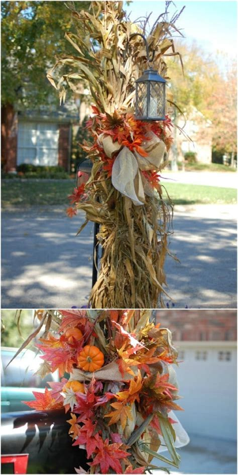 20 DIY Outdoor Fall Decorations That'll Beautify Your Lawn