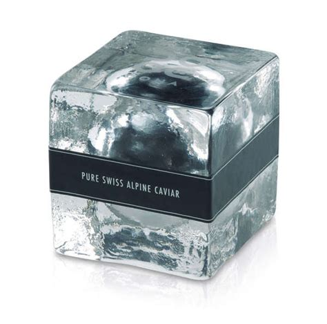 Unmelting Caviar Containers : ice cube packaging