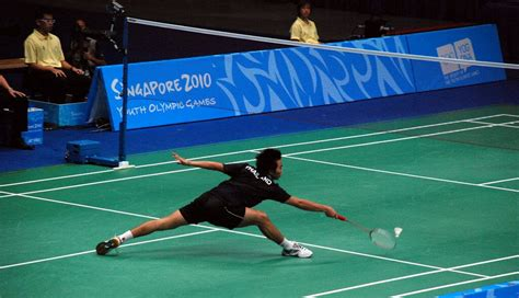 Common Injuries in Badminton - The Ankle Sprain