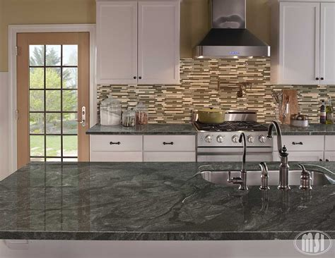 Leathered White Spring Granite Countertops In Country