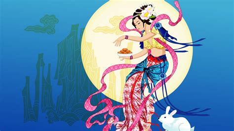 Chang-e flies to the moon- Mid-Autumn Festival special