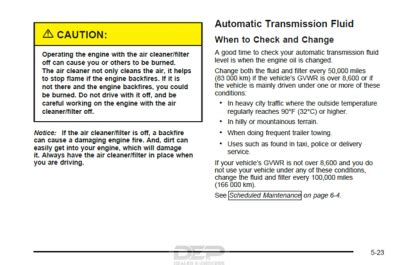 Towing Transmission Temp Question | Chevy Tahoe Forum