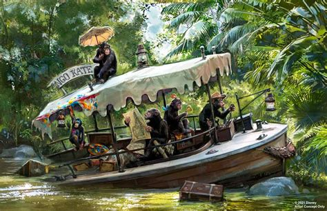 Expect more monkey business with Disney's new Jungle