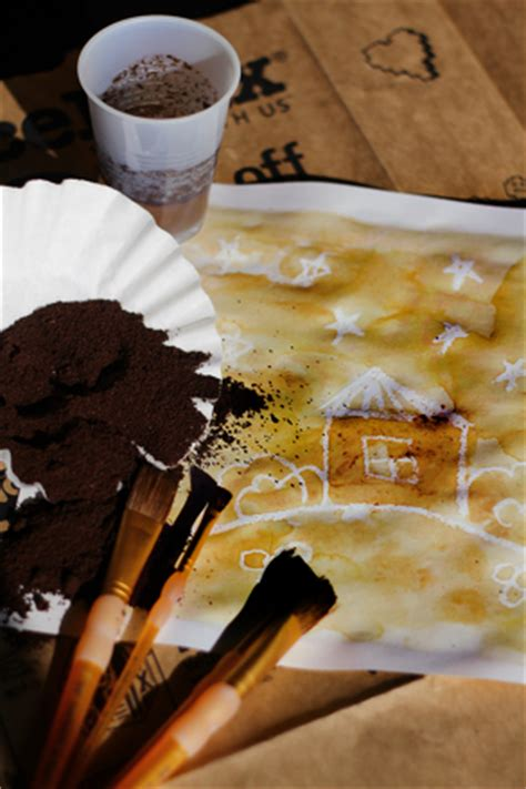 Painting With Coffee Grounds | Activity | Education