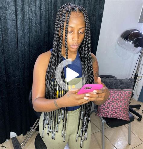 Pin on knotless braids in 2020   Braided hairstyles for